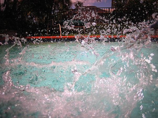water splash photography