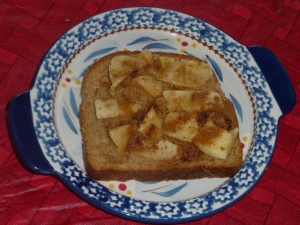 Cinnamon Apple Toast
