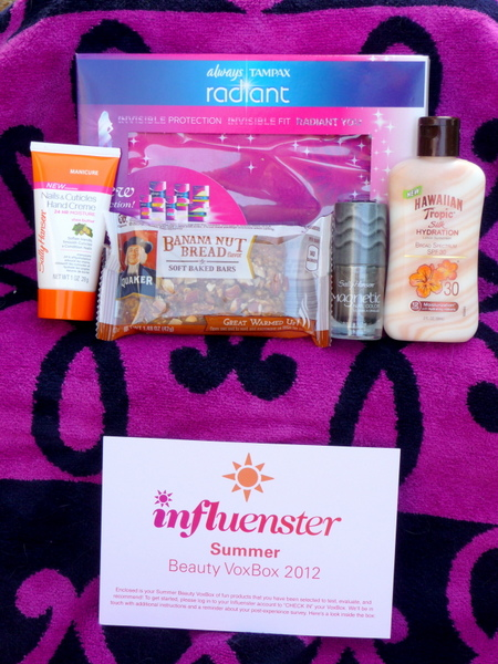Influenster summer beauty VoxBox