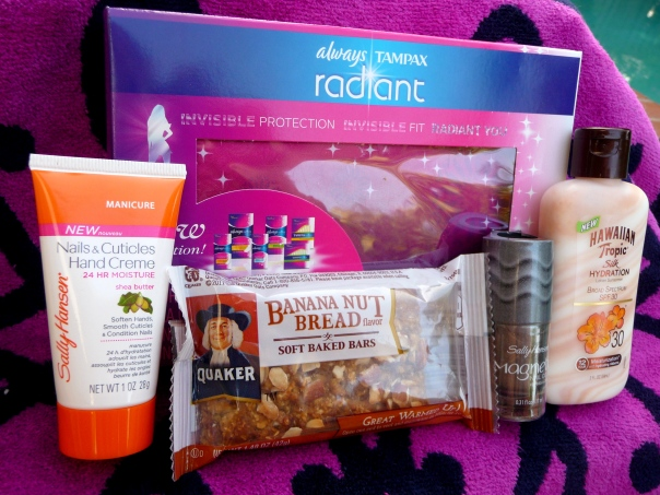 Influenster summer beauty VoxBox products