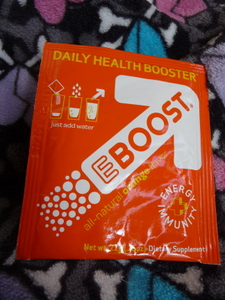 EBOOST orange flavor