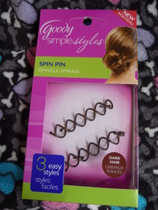 Goody simple styles spin pin